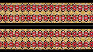 Jewelry Print Lehenga Textile Digital Design - Belt & Border 2739