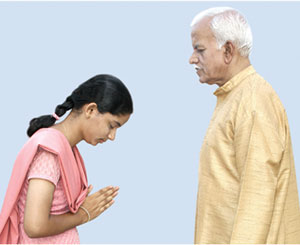 Namaskar - Origin and the meaning of the word 'Namaskar'