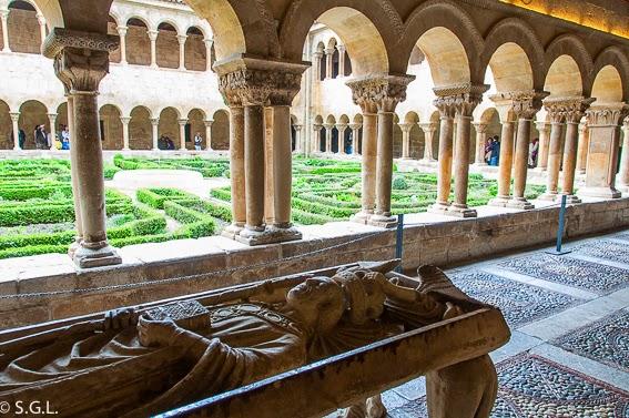 El claustro de Santo Domingo de Silos