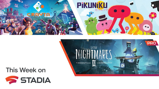 Google Stadia too ad more games this week: Including Little Nightmares 2, Crayta and Pikunika | TechNeg