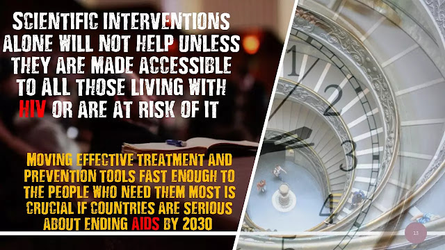 Moving HIV prevention and treatment tools from the lab to all those in need