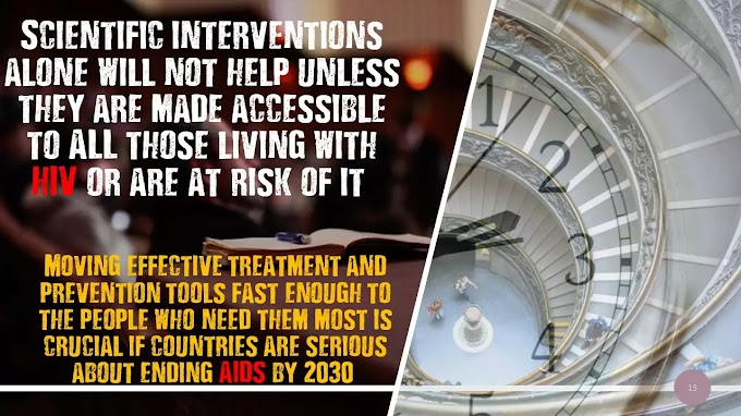 Moving HIV prevention and treatment tools from the lab to all those in need - shobha Shukla