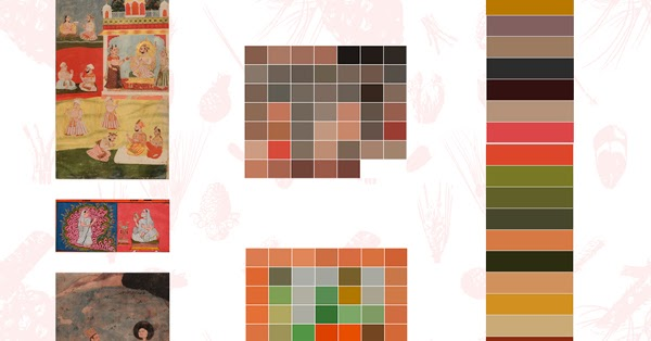 The Rajasthan School Color Palette