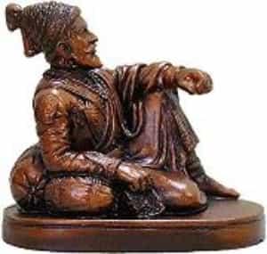 Shivaji Maharaj Statue, Brown