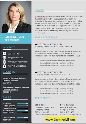CV gratuit en format word
