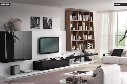MODERN LIVING ROOM DESIGN FROM TUMIDEI