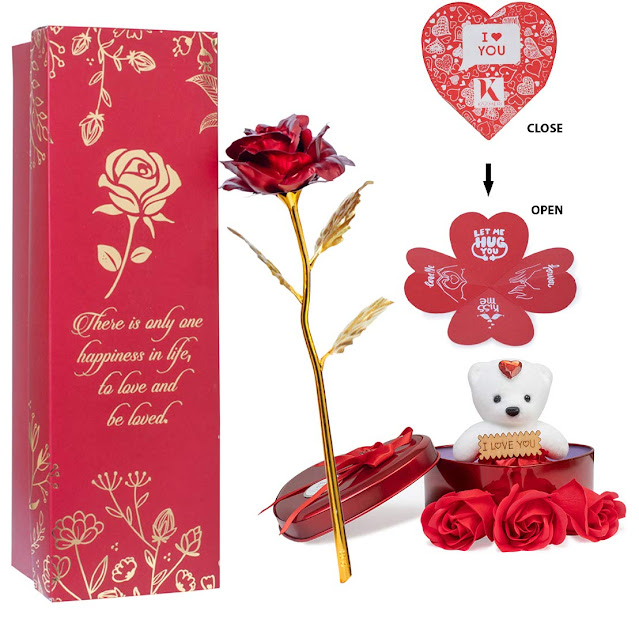 Rose Flower Petals And Rose Combo Pack