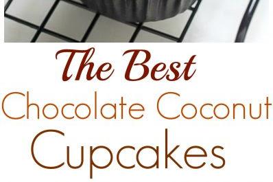 The Best Chocolate Coconut Cupcakes Recipe