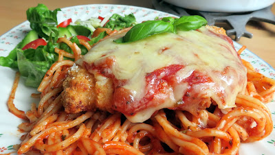 Easy Chicken Parm for Two