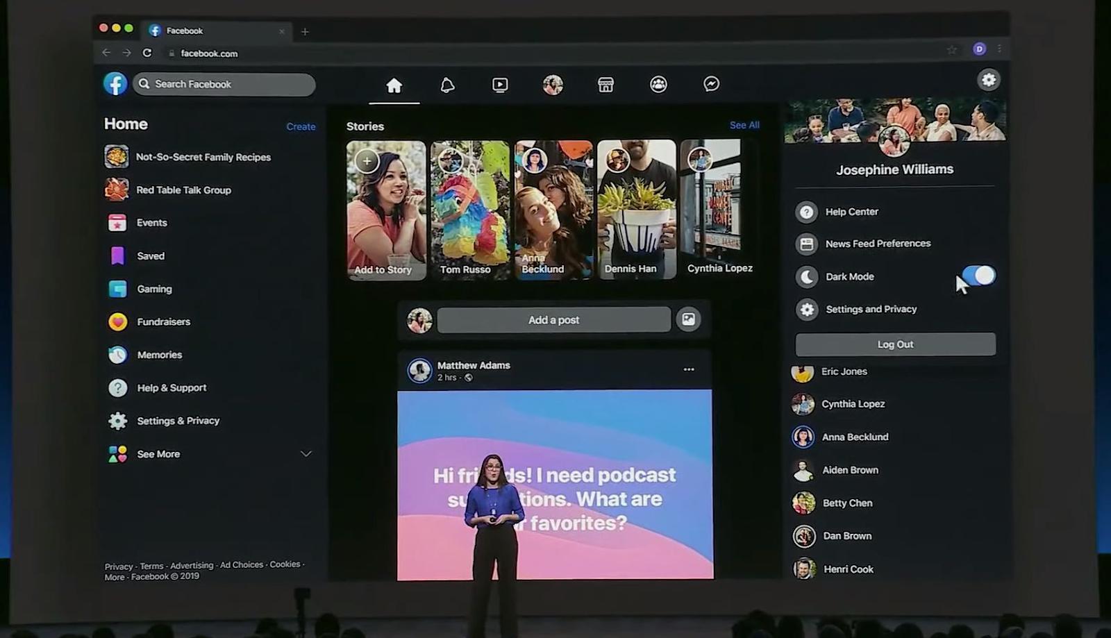 La nuova interfaccia Web di Facebook è in distribuzione globale