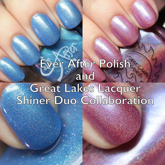 Ever After Polish and Great Lakes Lacquer Shiner Duo Collaboration