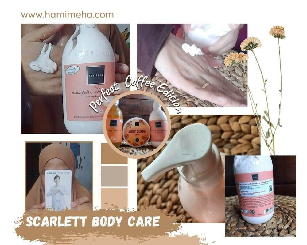 Handbody lotion scarlett coffee