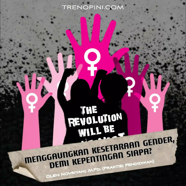 Pegiat kesetaraan gender terus berupaya untuk mengkampanyekan ide dan nilai-nilai kesetaraan gender dan menyeru kaum perempuan meniti karier menjadi pekerja profesional. Terlebih profesi menjadi seorang guru perempuan dinilai memiliki peranan penting dalam menggaungkan kesetaraan gender.