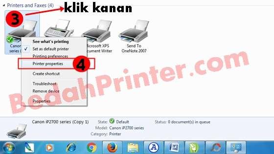 Cara Menghemat Tinta Printer Canon Pixma iP2770