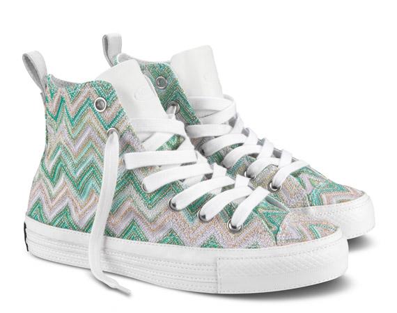 Silver Converse Wedding Shoes