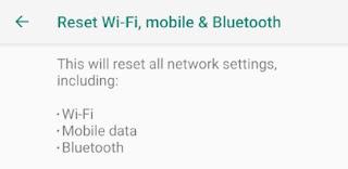 Cara Baru Reset di Android 9 Pie, Begini Caranya