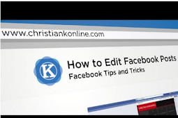 How to Edit Post On Facebook