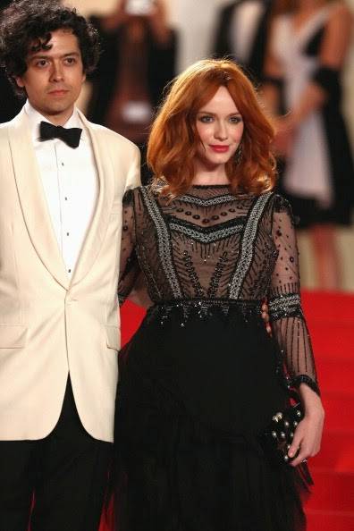 Christina Hendricks at Cannes