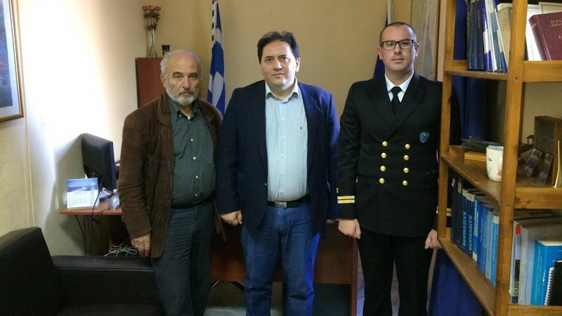 Σε Σαμοθράκη και Αλεξανδρούπολη ο Γενικός Γραμματέας Λιμένων Χρήστος Λαμπρίδης