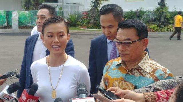 Mengaku Bukan Berdarah Indonesia, Agnez Mo Dibela Moeldoko