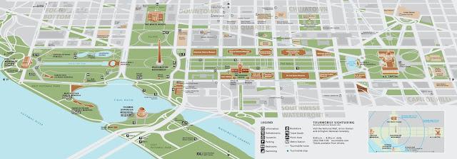 washington dc capitol hill map