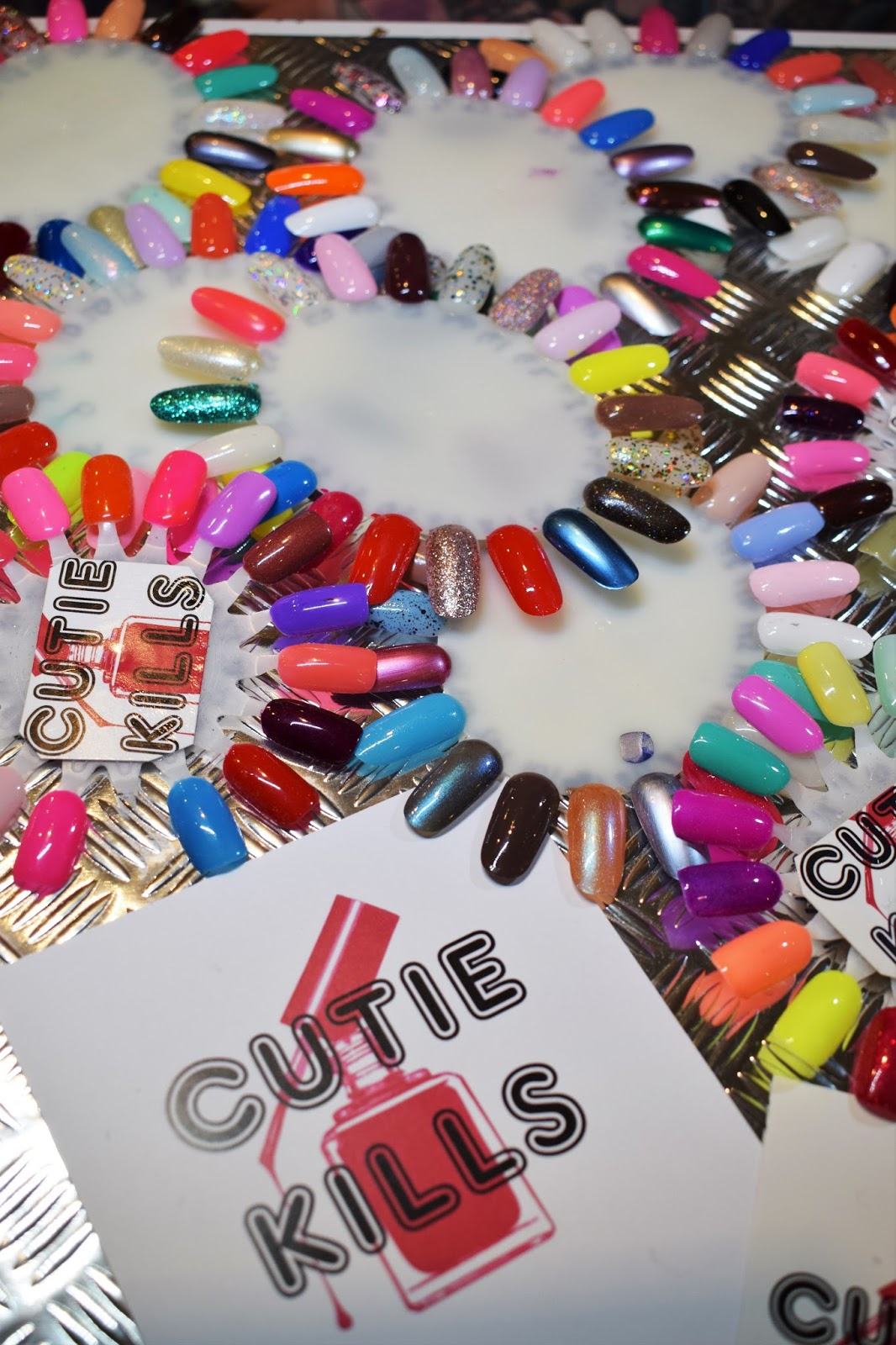 Cutie-Kills Nails, Zara Evry nail artist, Medusa Grassmarket, Edinburgh nail artist, gel polish colour, fashion blogger nails favourite