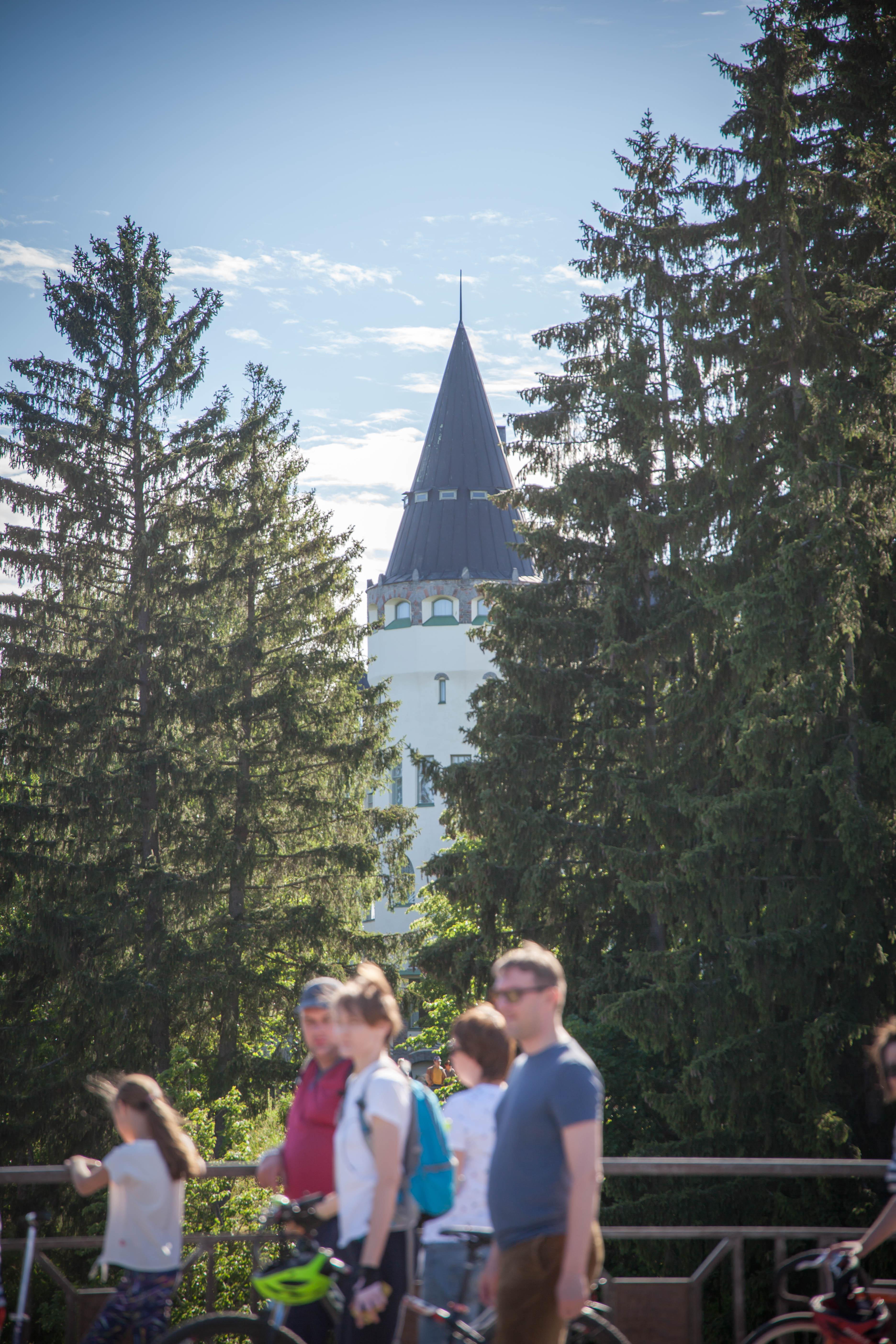 Imatrankoski koskinäytös Imatra Suomi