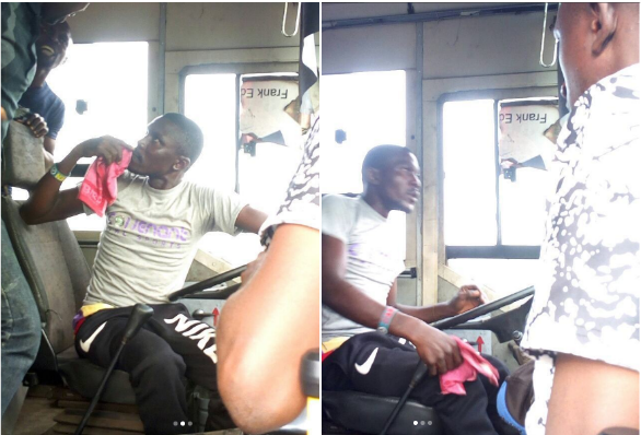 [PHOTOS] This Confused BRT Driver Takes Passengers On A Road Trip Around Lagos
