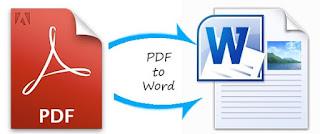 cara mengubah pdf  ke word lewat hp android