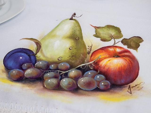 Aprenda e Faça: Pintura de Frutas