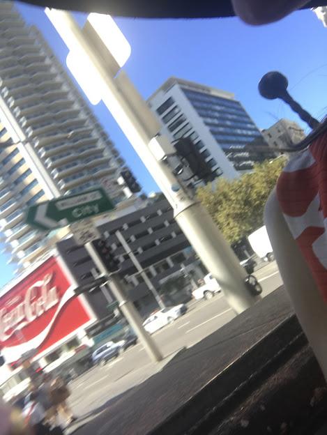 Coca-Cola neon sign in Sydney's Kings Cross