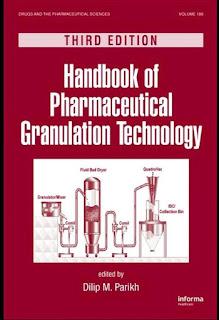 Handbook of Pharmaceutical Granulation Technology 3rd Edition