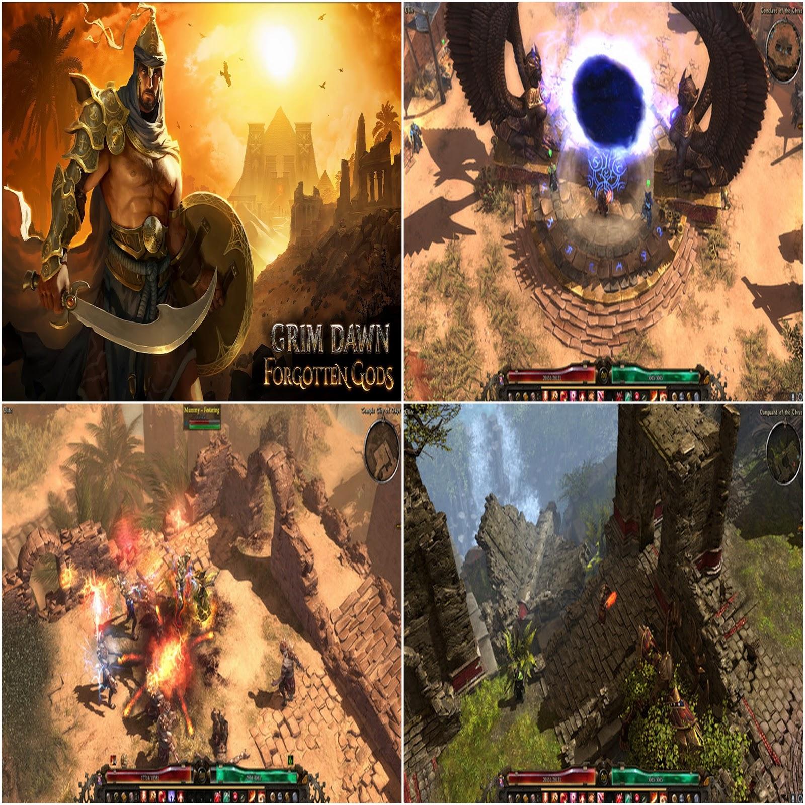 Grim Dawn Forgotten Gods (v1 1 2 0) | Game Experience