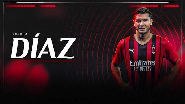 Oficial: Real Madrid, Brahim cedido al Milan hasta 2023