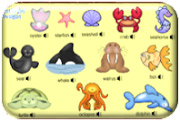 http://www.learningchocolate.com/en-gb/content/sea-animals?st_lang=en