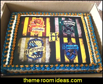 Harry Potter Hogwarts Edible Image Photo Cake Topper