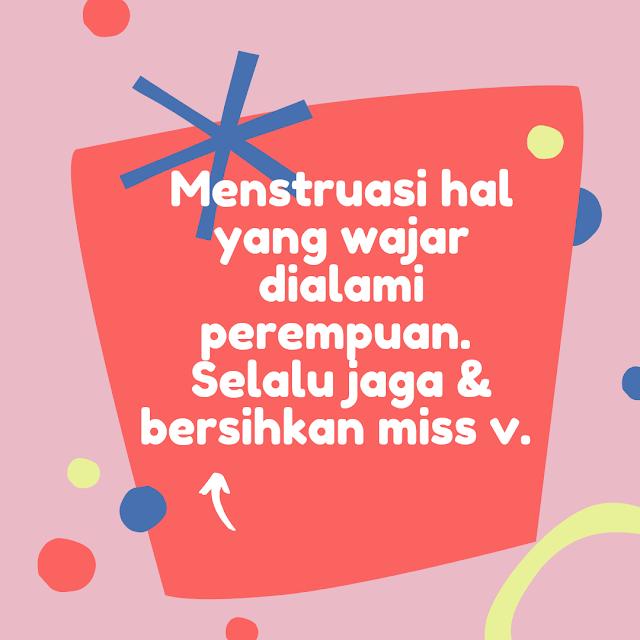 Merawat kebersihan vagina saat menstruasi