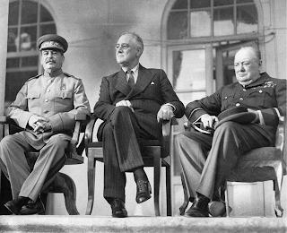 Fotografía de la Conferencia de Teherán