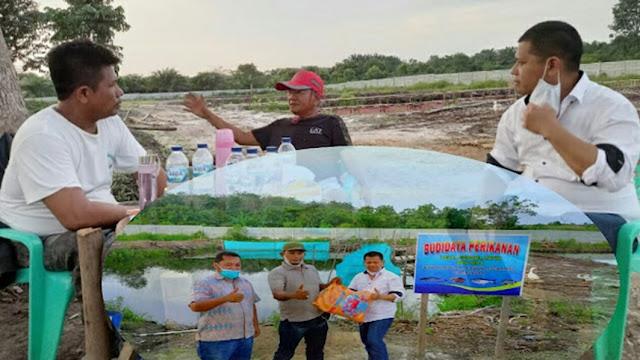 Disaksikan Ketum DPP APPI, PT. BSS Serahkan Bantuan Pakan Ikan Kepada DPD APPI Riau