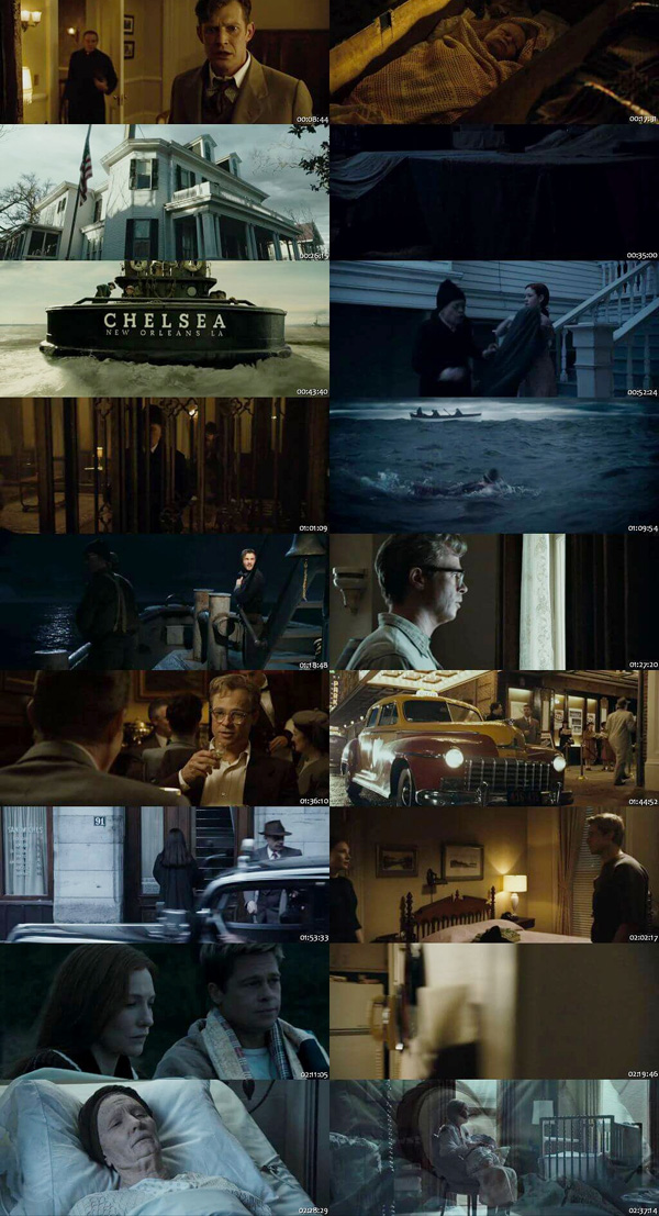 Download The Curious Case of Benjamin Button 2008 Dual Audio ORG Hindi BluRay 720p 1.2GB DD5.1Ch ESubs movie