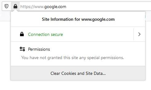 Google Secured Connection