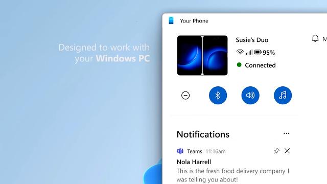 تقوم مايكروسوفت بتحديث تصميم تطبيق Your Phone لنظام التشغيل Windows 11