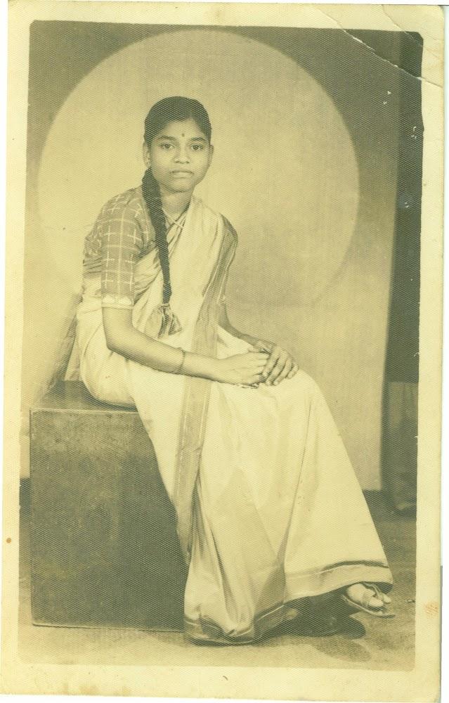 Portrait of Tara Dinkar Rayas - 1950's