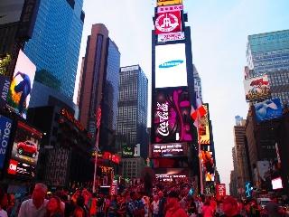 タイムズスクエア写真