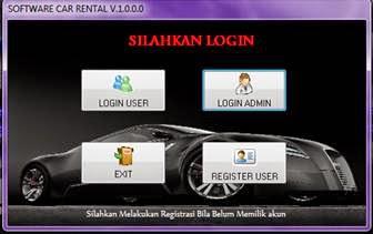 Aplikasi Rental Mobil Menggunakan Delphi 7