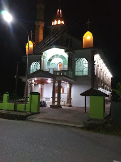 peresmian Gereja GKI Petra Kodim Aifoti