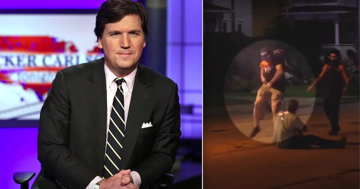 Fox News Host, Tucker Carlson, Defends Killer Of BLM Protesters Saying He 'Had To Maintain Order When No One Else Would'