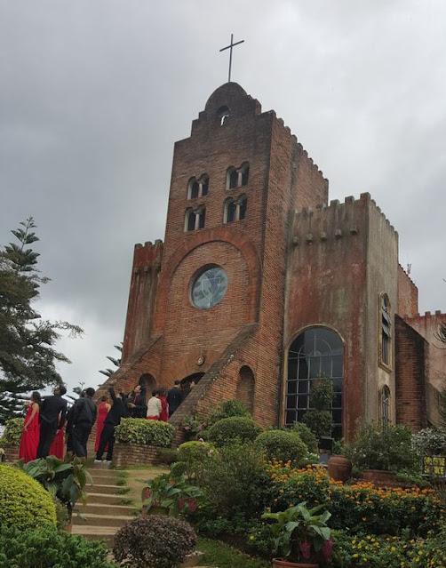 Façade of Caleruega Church