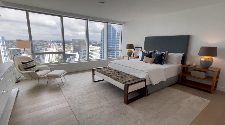 30 Photos vs. Tour 888 W E St #3401, San Diego, CA Luxury Condo Interior Design