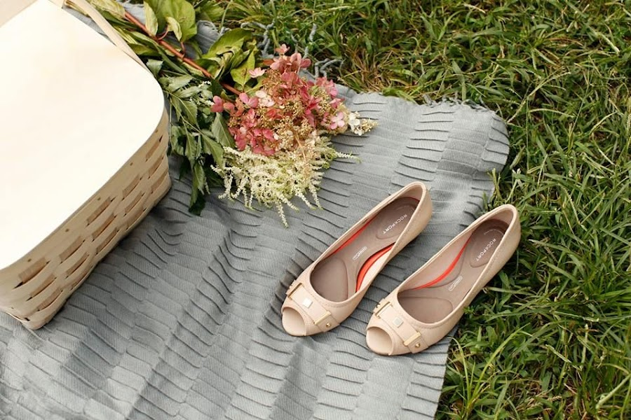 zapatos de tacón Rockport